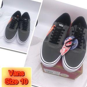 Vans Men's Brand New Trendy Sneakers Gray 10